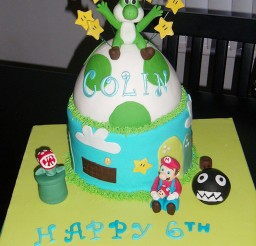 1024x1365px Yoshi Birthday Cake Design Picture in Birthday Cake