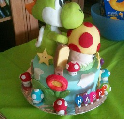 1024x1365px Yoshi Birthday Cake Ideas Picture in Birthday Cake