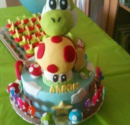 1024x1365px Yoshi Birthday Cake Picture Picture in Birthday Cake