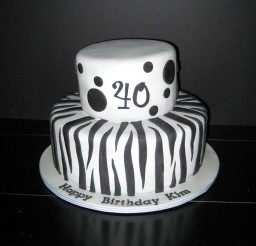 1024x1024px Zebra Print Birthday Cake Picture in Birthday Cake