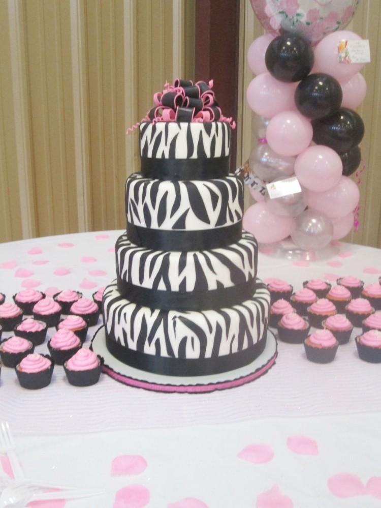 Zebra Print Birthday Cake Ideas 2 Picture in Birthday Cake