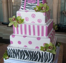 1024x1425px Zebra Print Wedding Cakes Picture in Wedding Cake