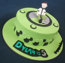 1024x968px Ben 10 Birthday Cake Decorations Picture in Birthday Cake