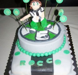 1024x1365px Ben 10 Birthday Cake Ideas Picture in Birthday Cake