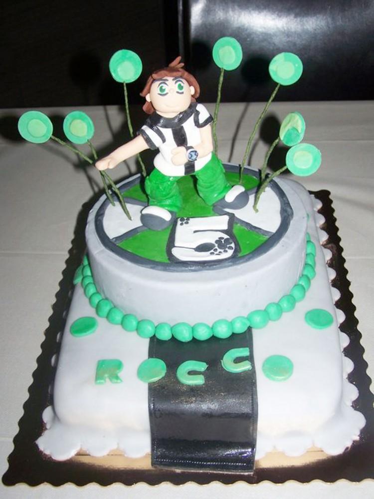 Ben 10 Birthday Cake Ideas Picture in Birthday Cake