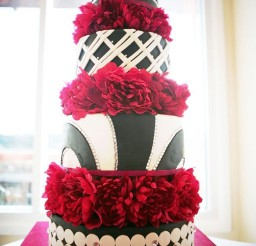 1024x1408px Black White Wedding Cake By Erie Pa Picture in Wedding Cake