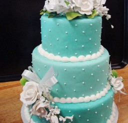 1024x1364px Blue Prettiest Wedding Cakes Picture in Wedding Cake