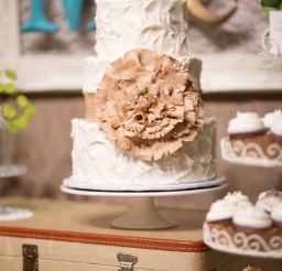 1024x1537px Burlap Wedding Cake Toppers Picture in Wedding Cake