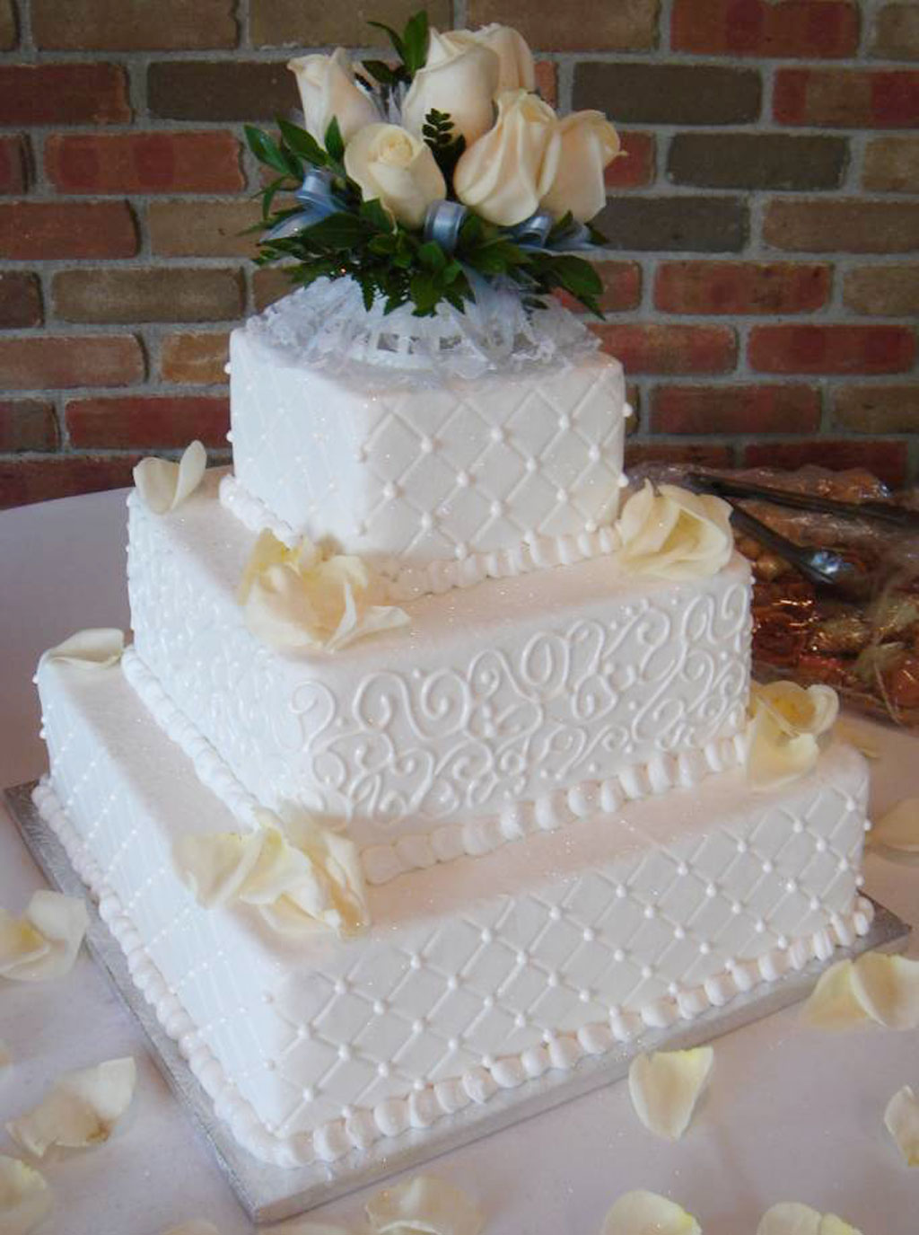 Buttercream Icing Wedding Cakes Wedding Cake - Cake Ideas by ...