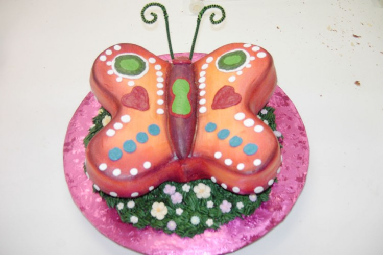 Butterfly Birthday Cake Ideas Picture in Birthday Cake