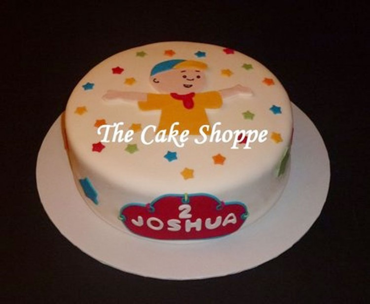 Caillou Birthday Cake Decoration Picture in Birthday Cake