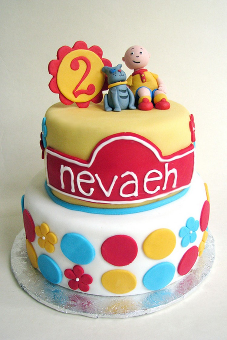 Caillou Birthday Cake Decorations Picture in Birthday Cake