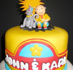 1024x1365px Caillou Birthday Cake Image Picture in Birthday Cake