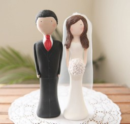 1024x1024px Cake Topper Custom Wedding Picture in Wedding Cake
