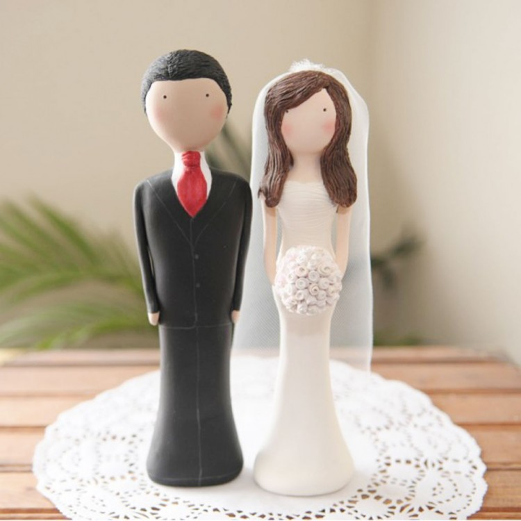 Cake Topper Custom Wedding Idea 1 Picture in Wedding Cake