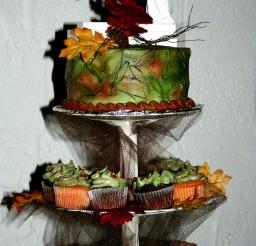 1024x1536px Camo Wedding Cakes Picture in Wedding Cake