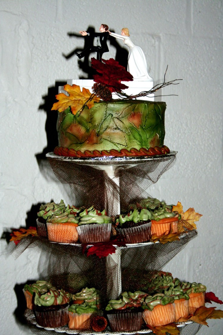Camo Wedding Cakes Picture in Wedding Cake