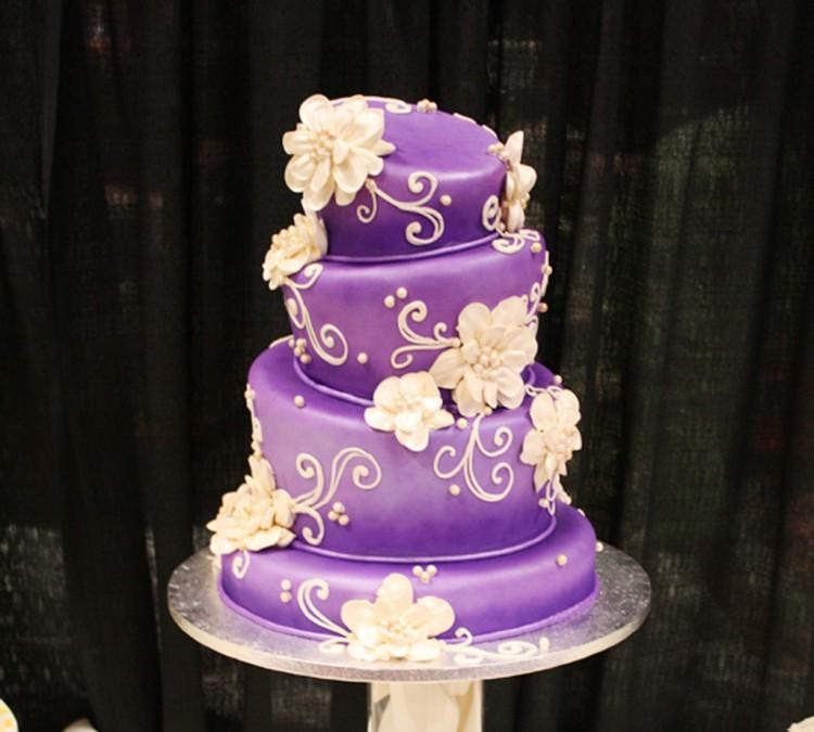 Canton Wedding Cake Design 1 Picture in Wedding Cake