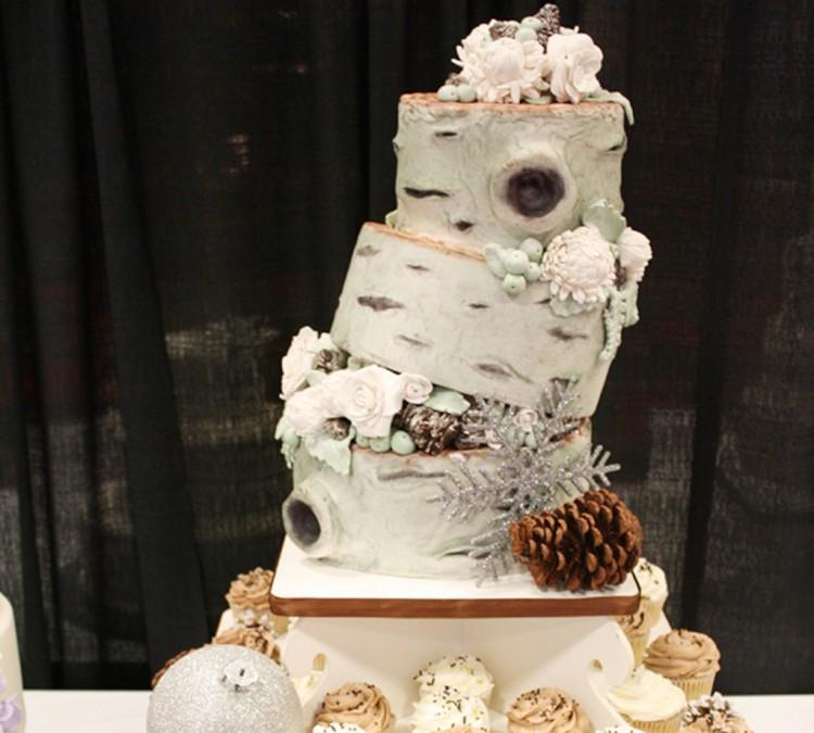 Canton Wedding Cake Design 6 Picture in Wedding Cake