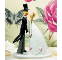 1024x1024px Cartoon Wedding Cake Topper Picture in Wedding Cake