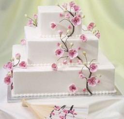 1024x1229px Cherry Blossom Wedding Cakes Ideas Picture in Wedding Cake