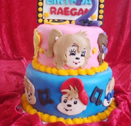 1024x1365px Chipettes Birthday Cakes Picture in Birthday Cake