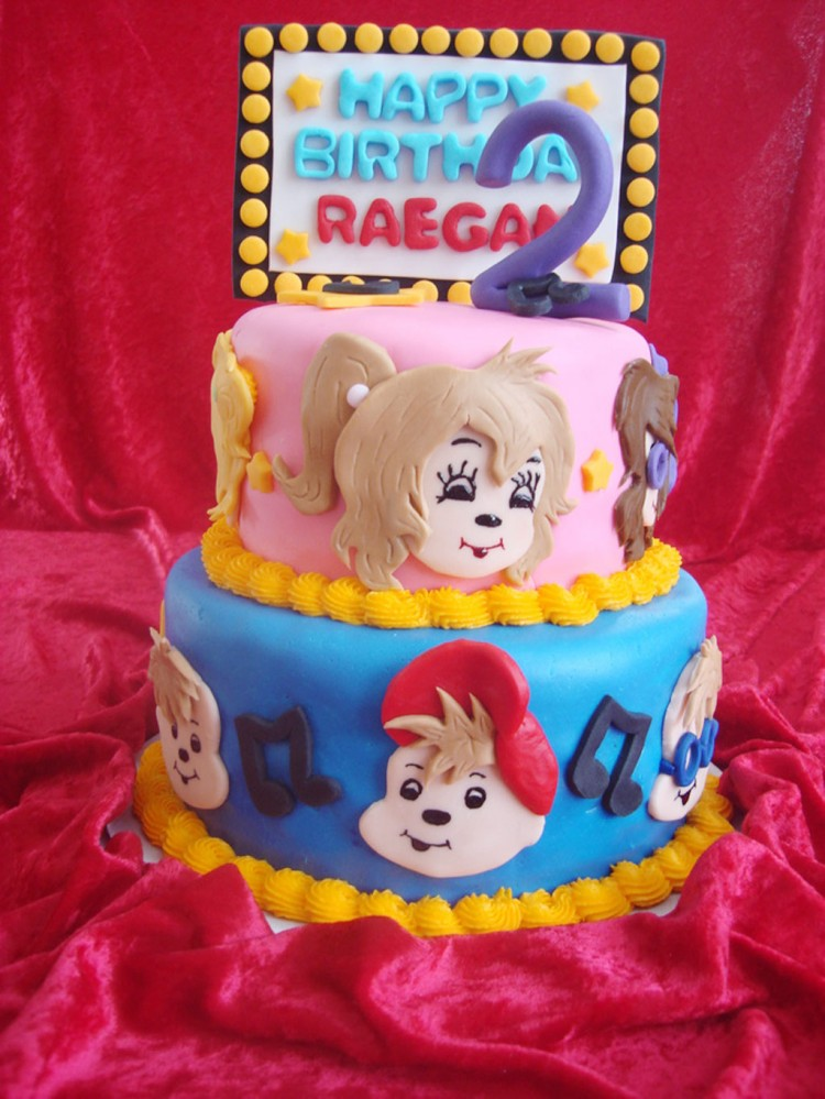 Chipettes Birthday Cakes Picture in Birthday Cake