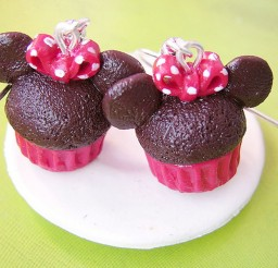 1024x678px Chocolate Minnie Mouse Cupcake Picture in Chocolate Cake