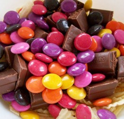 1024x682px Chocolate Easter Candy Picture in Chocolate Cake