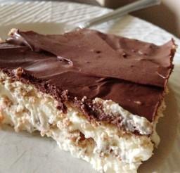 1024x1101px Chocolate Eclair Dessert Picture in Wedding Cake
