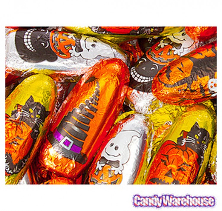Chocolate Halloween Candy Molds Picture in Chocolate Cake