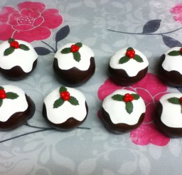 1024x768px Chocolate Mini Christmas Cakes Picture in Chocolate Cake
