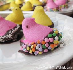 1024x812px Chocolate Peeps Picture in Chocolate Cake