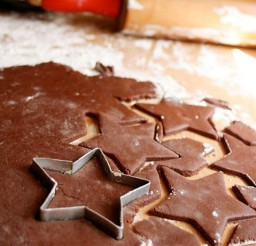 1024x1535px Chocolate Star Christmas Cookies Picture in Chocolate Cake