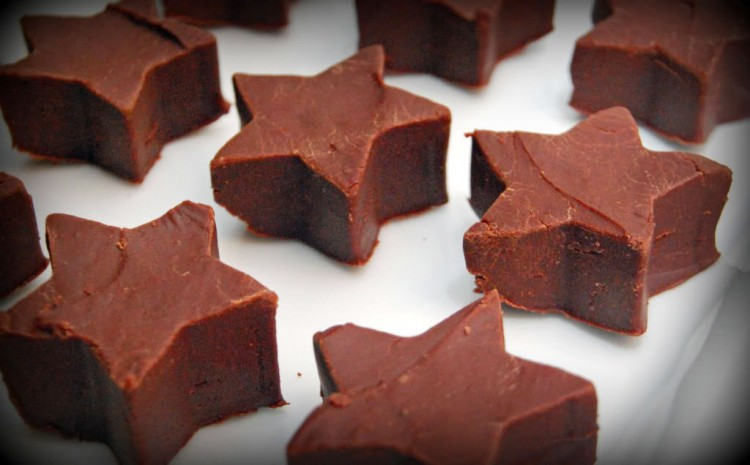 Chocolate Star Cookies Picture in Chocolate Cake