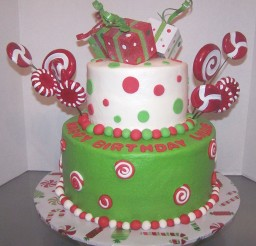 1024x1047px Christmas Birthday Cake Picture in Birthday Cake