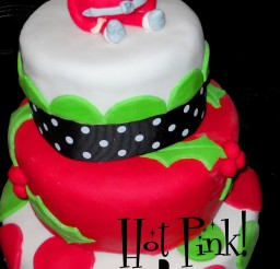 1024x1523px Christmas Birthday Cakes Picture in Birthday Cake