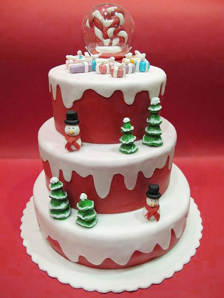 Christmas Birthday Cakes For Children Picture in Birthday Cake