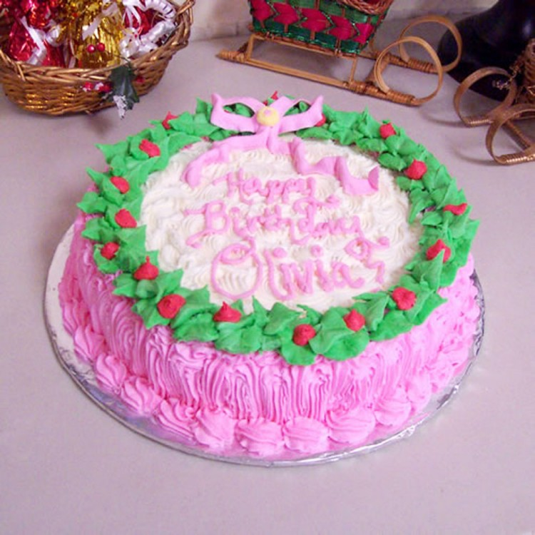 Christmas Birthday Cakes Pinterest Picture in Birthday Cake