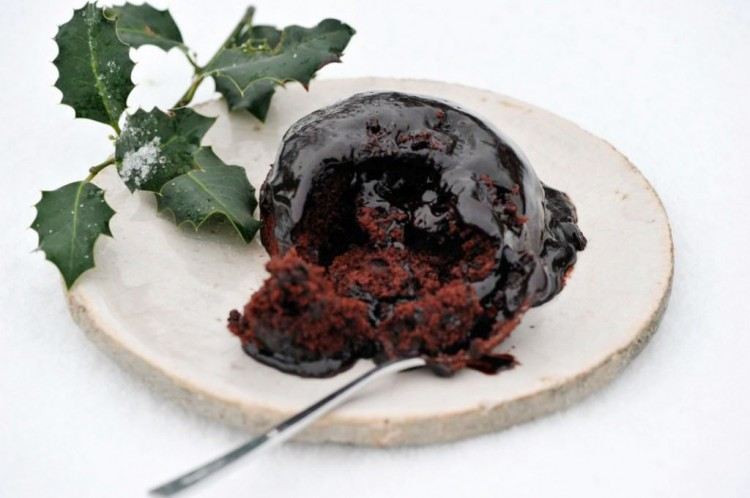 Christmas Chocolate Pudding 1 Picture in Chocolate Cake