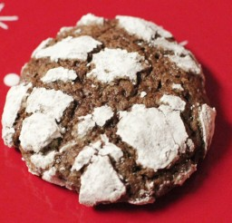 1024x682px Christmas Cookies Chocolate Crinkles Picture in Chocolate Cake