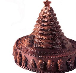 1024x1024px Christmas Tree Cakes With Chocolate Picture in Chocolate Cake