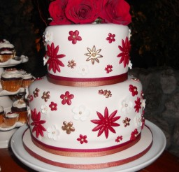 1024x1313px Christmas Wedding Cake Decorations Picture in Wedding Cake