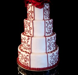 1024x1365px Christmas Wedding Cake Flavors Picture in Wedding Cake