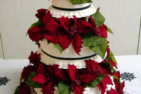Christmas Wedding Cake Topper Ideas Wedding Cake - Cake Ideas by ...
