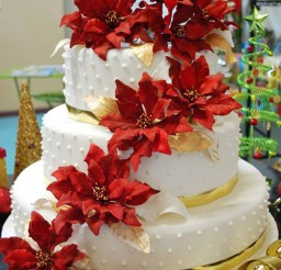 1024x1530px Christmas Wedding Cakes 1 Picture in Wedding Cake