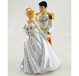 1024x1024px Classic Cinderella Wedding Cake Topper Picture in Wedding Cake