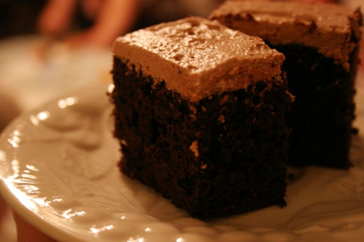 Coca Cola Dark Chocolate Cake Picture in Chocolate Cake