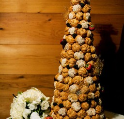 1024x1535px Cream Puff Wedding Cake Picture in Wedding Cake