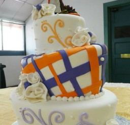 1024x1536px Creative Wedding Cakes Colorado Springs Picture in Wedding Cake